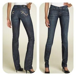 Rock & Republic Stella Straight Leg Blue Jeans